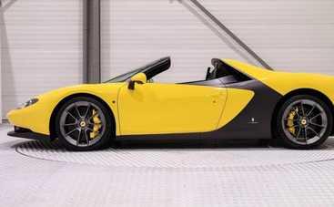 Уникальный Ferrari Sergio продают за 3 млн. евро