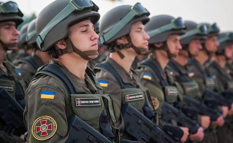 Как проводят досуг гвардейцы в зоне АТО (фото)