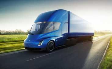 Электрогрузовик Tesla сможет проехать без подзарядки почти 1000 км