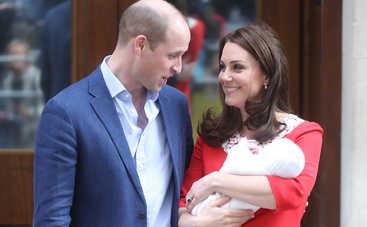 В Сети появились первые официальные снимки принца Луи