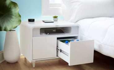 Умный прикроватный столик: поможет уснуть и зарядит ваши гаджеты