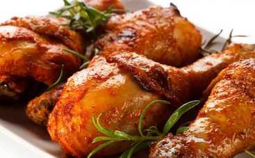 Пряные куриные ножки с перцем и чесноком (рецепт)