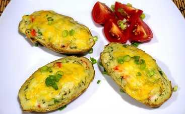 Сочные картофельные лодочки (рецепт)