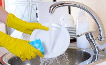 Как помыть посуду, если нет горячей воды?