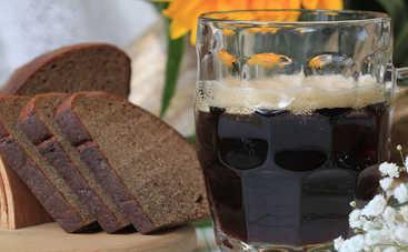 Квас из черного хлеба (рецепт)
