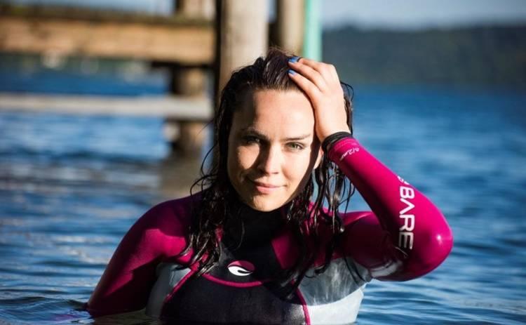 Анастасия Даугуле установила международный рекорд по плаванью
