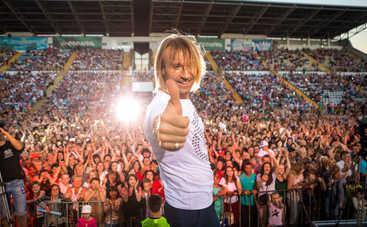 Олег Винник сотворил чудо во время концерта в Ивано-Франковске
