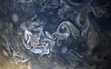NASA показали невероятное зрелище: как выглядят облака Юпитера