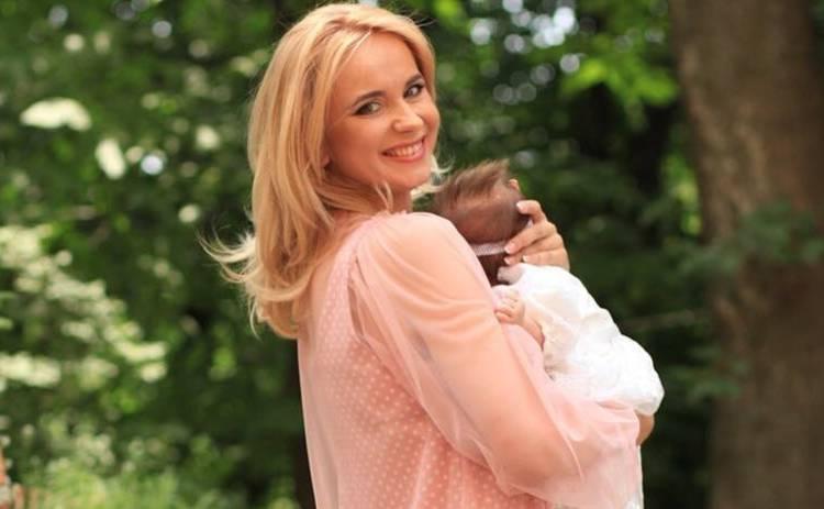 Лилия Ребрик похвасталась успехами новорожденной дочери