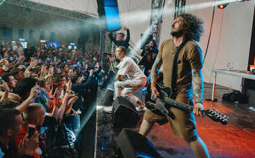 Группа АГОНЬ выступила на концерте дерзкого рэпера из Бруклина