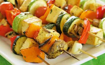 Сочный шашлык из овощей (рецепт)