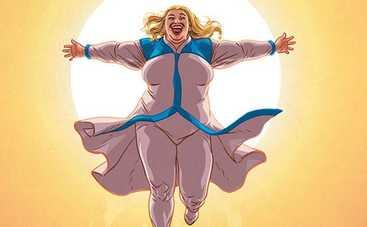 Впервые снимут фильм о пышнотелой супергероине