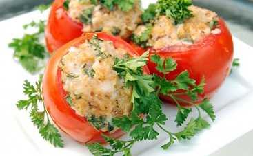 Сочные фаршированные помидоры (рецепт)