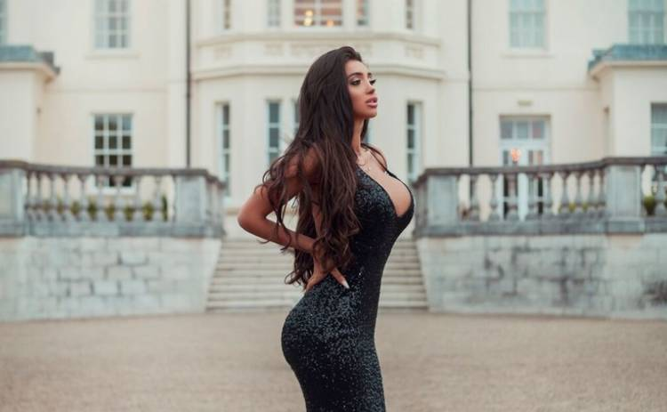 Звезда британского реалити-шоу и Instagram снялась для украинского Playboy