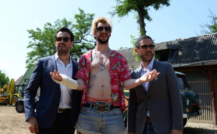 В украинский прокат выходит французская комедия «Мальчишник в Европе»