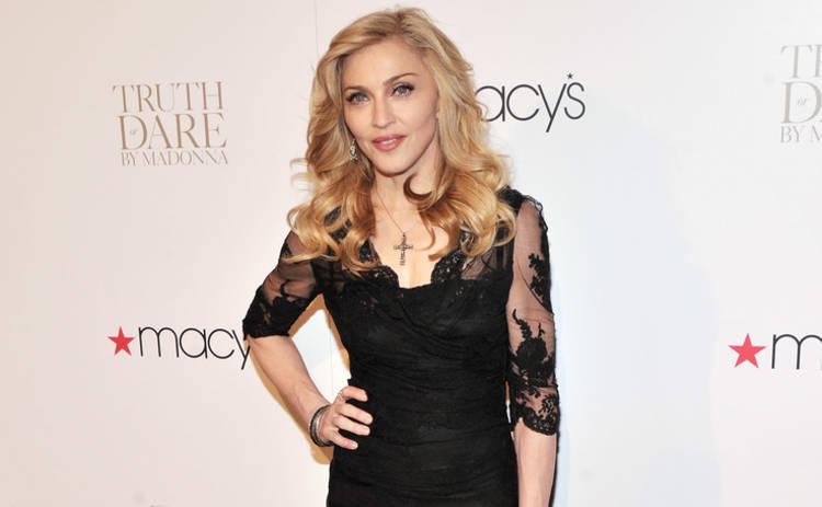 Редкий кадр: Мадонна показала всех шестерых детей