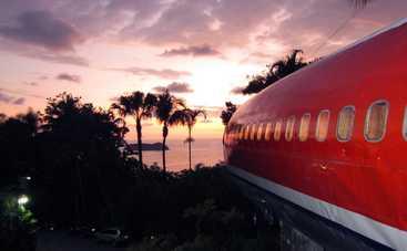 Из корпуса Boeing 727 сделали шикарный отель