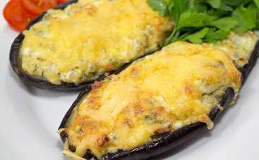Запеченные баклажаны с помидорами и сыром (рецепт)