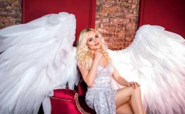 Молодая украинская певица показала своего «Ангела»