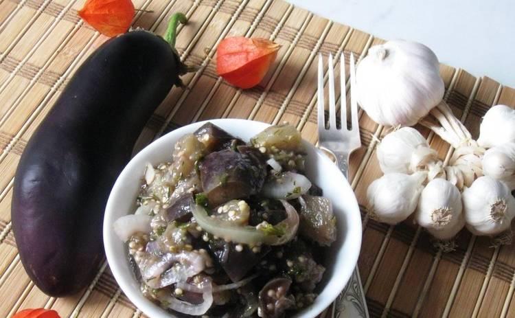 Маринованные баклажаны (рецепт)