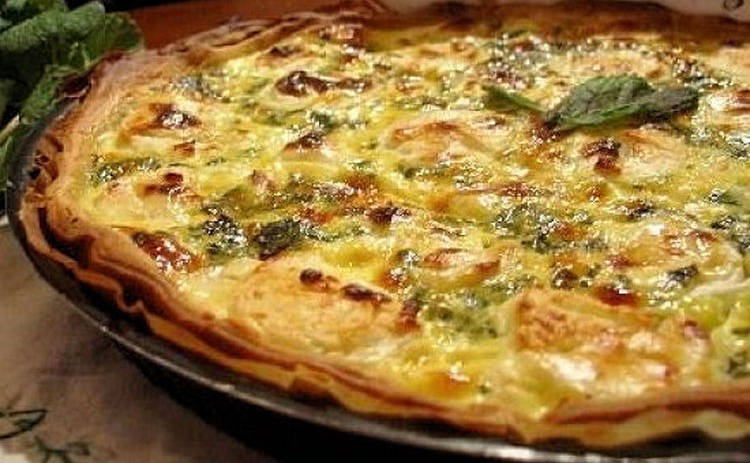 Пицца на сковороде за 10 минут (рецепт)