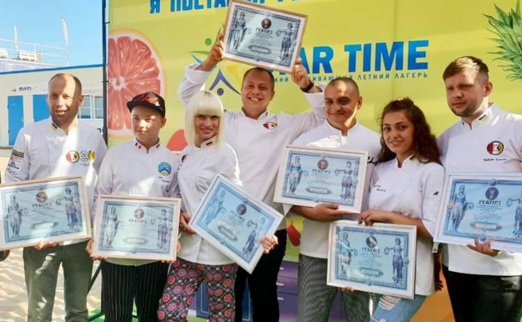 Ведущий телеканала «Интер» Андрей Дромов установил кулинарный рекорд
