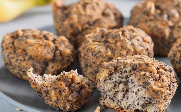 Очень вкусные кексы с изюмом и маком (рецепт)