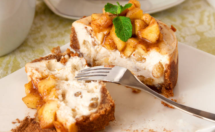 Очень вкусная запеканка из яблок и корицы (рецепт)