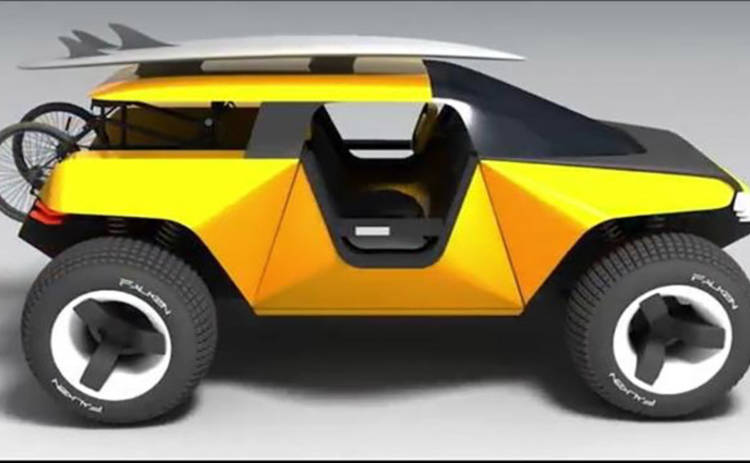 Украинский студент разработал автомобиль будущего