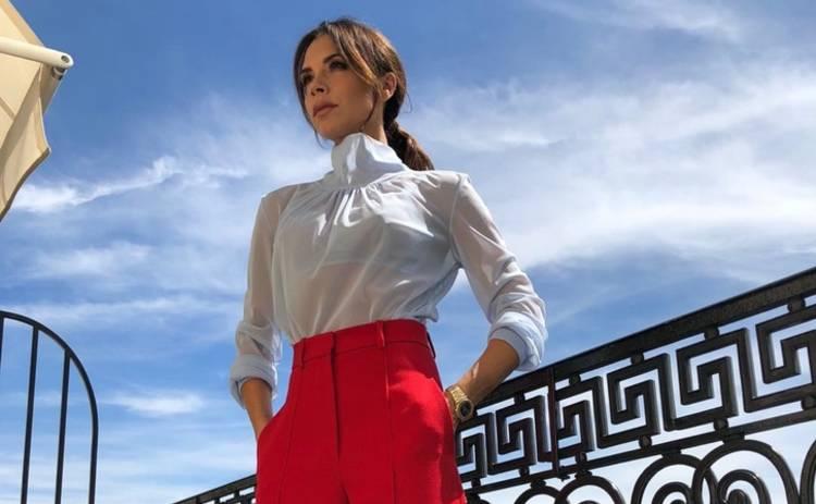 Виктория Бекхэм надела соблазнительный латексный костюм