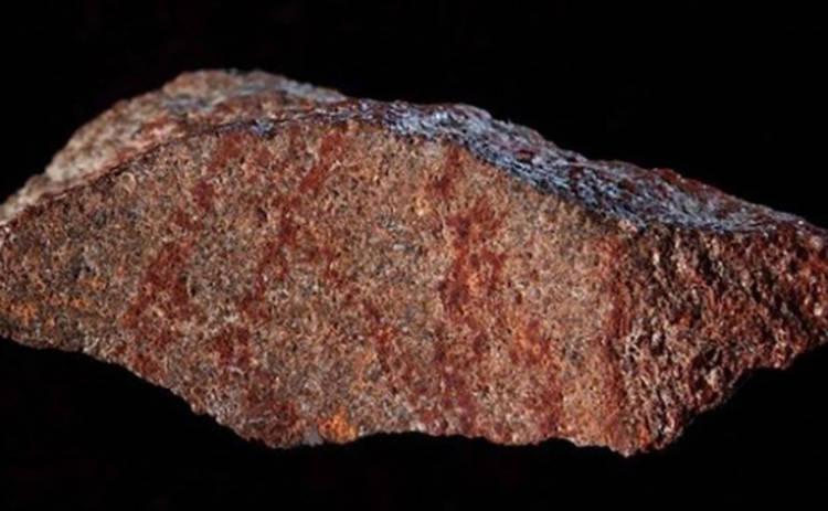 Найден самый старый рисунок в пещере Африки
