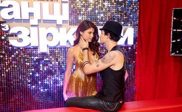 Участница «Танців з зірками» была близка к падению вниз головой в прямом эфире