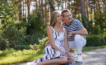 Юрий Горбунов показал маленького сына Ивана на прогулке