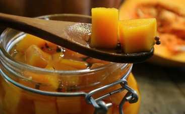 Тыква в маринаде: экзотическая закуска к мясным блюдам (рецепт)