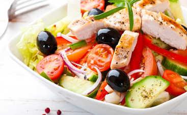 Оригинальный греческий салат за 10 минут (рецепт)