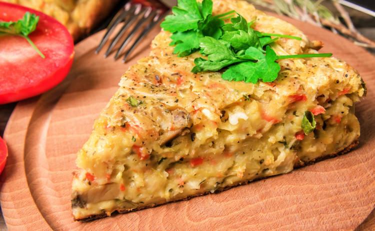 Пирог с капустой – быстро и вкусно (рецепт)