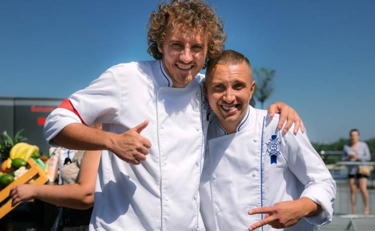 Евгений Клопотенко и Вадим Бжезинский сразятся на кухне «МастерШеф-8»