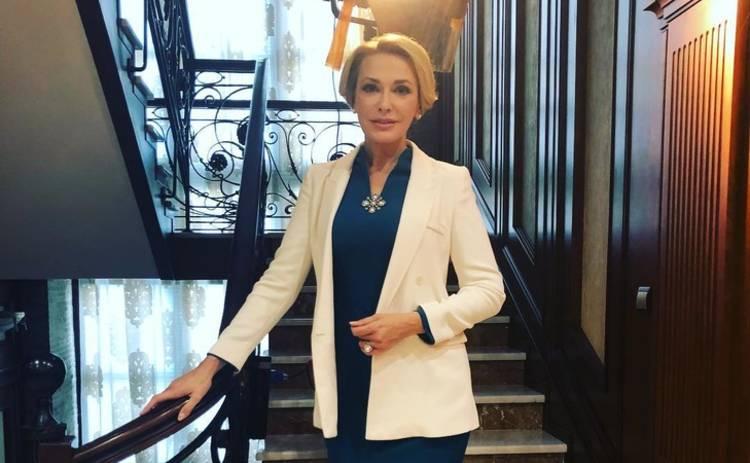 Ольга Сумская очаровала образом в роскошной вышиванке