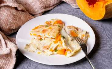 Безумно вкусный осенний омлет с тыквой (рецепт)