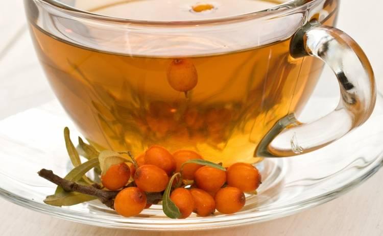 Антипростудный облепиховый чай (рецепт)