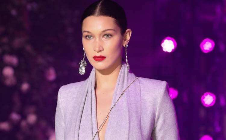 Белла Хадид надела «голое» платье на свидание после афтепати шоу Victoria's Secret