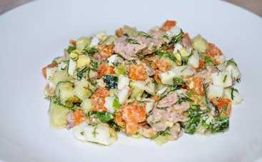 Неповторимый вкус! Салат «Зимняя сказка» (рецепт)