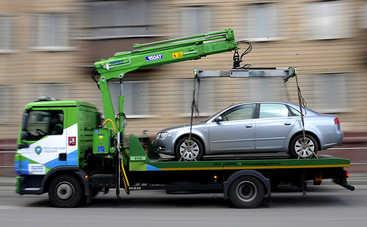 Как на практике работает закон об эвакуации авто на штрафплощадку