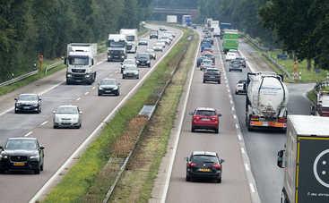 Новая дорожная разметка или зауженные полосы дорожного движения