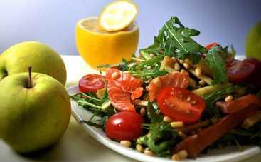 Вкусный салат с семгой и яблоками (рецепт)