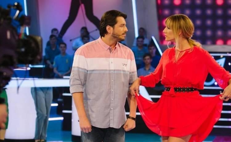 Леся Никитюк хотела поцеловать известного телеведущего, чтобы загладить вину