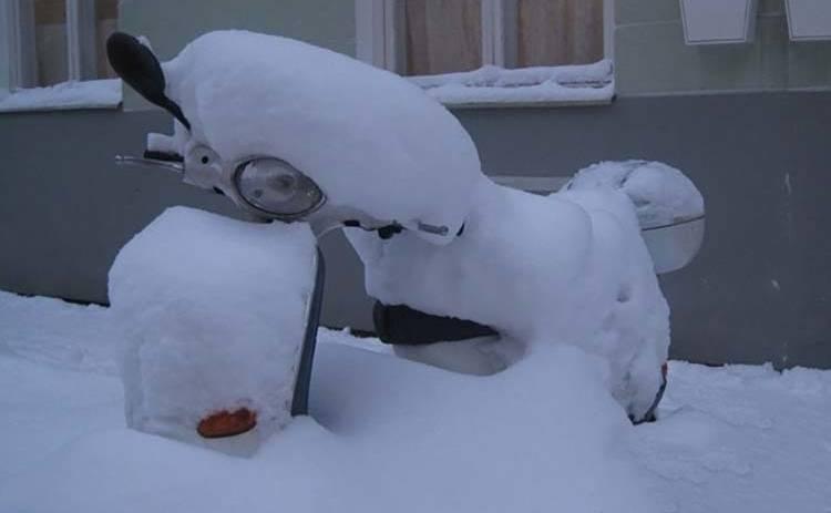 7 полезных советов, как подготовить скутер к зиме