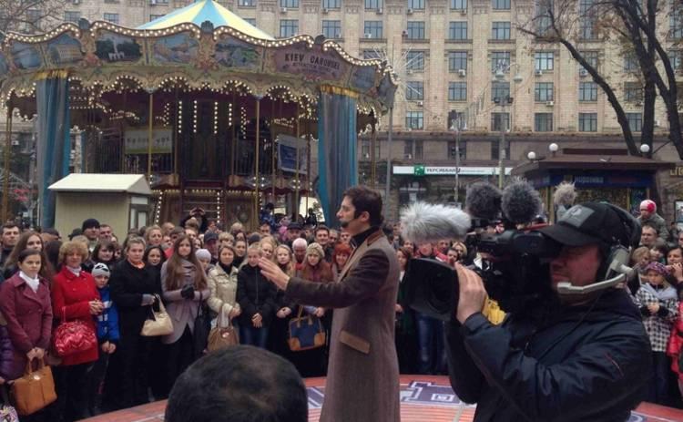 Игорь Кондратюк запустил флешмоб к 20-летию «Караоке на Майдане»