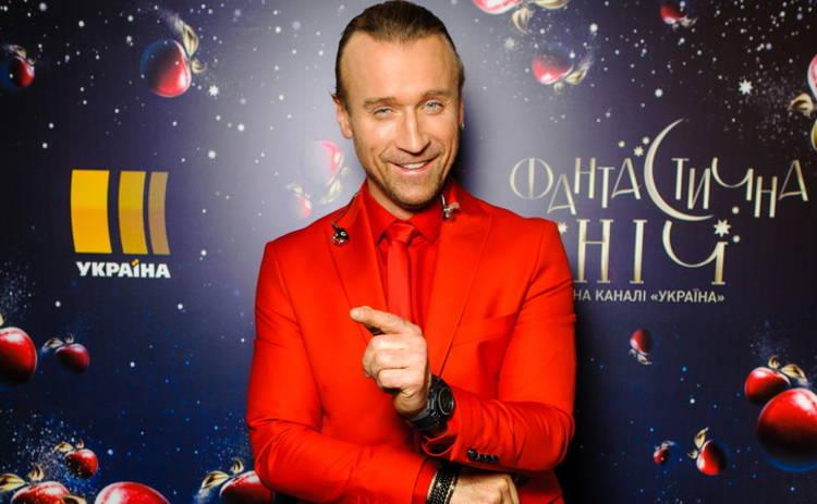 Олег Винник собрался искупаться в холодном Черном море
