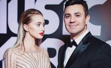 Резонансное платье: 23-летняя жена Николая Тищенко появилась в пикантном наряде